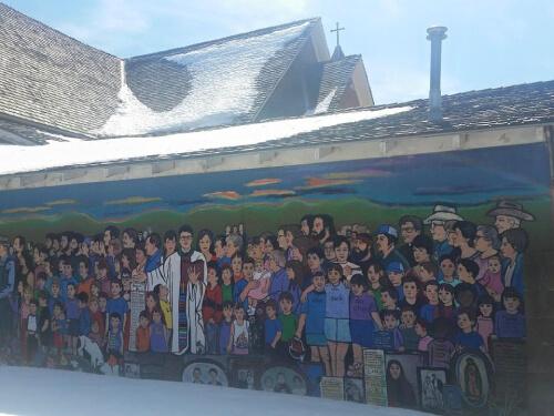 Mural by Carlota Espinosa