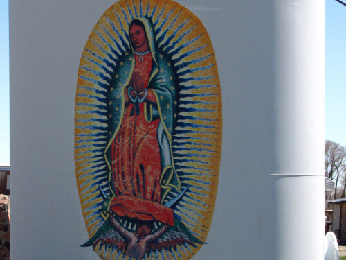 Lady of Guadalupe by Rogelio Briones