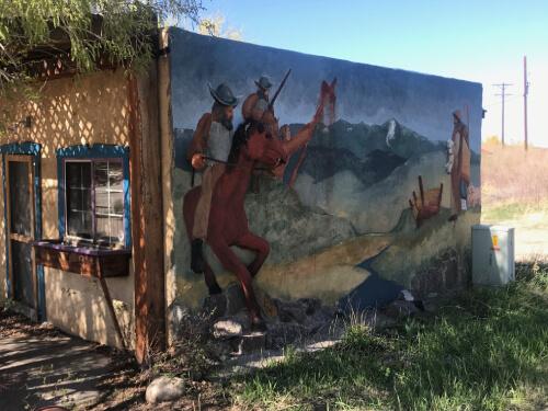 San Luis Mural by Huberto Maestas